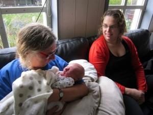 Simon, Trudy and Inge