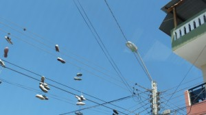 shoes in the sky, why ...