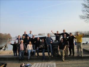 groepsfoto van deelnemers