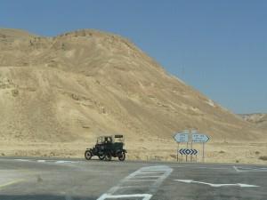 op weg naar de grens met Jordani‰