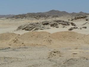 ander gezicht van de woestijn