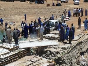 Ontvangst in Sudan