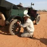 first flat tire