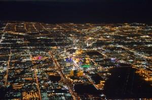 Las Vegas uit de lucht
