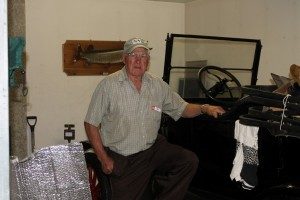 Reg and his Model T