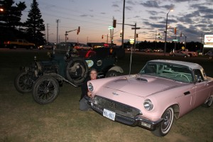 Trudy with pink Thunderbird