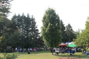 the garden of the family Vaillant