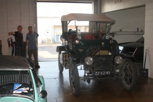 the model T at Hyman