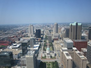 view fom the arch