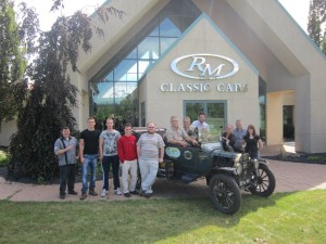 visiting RM Classic Cars