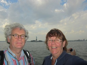 Coby and Sjaak in New York