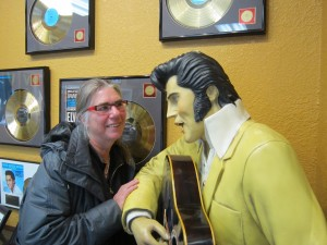Trudy meets Elvis