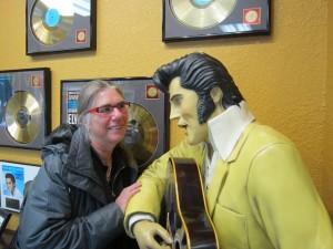Trudy meets Elvis