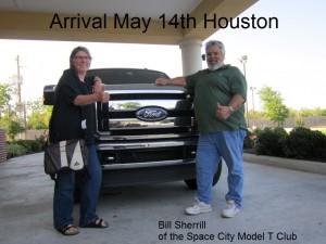 arrival Houston