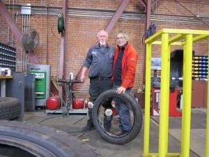 repairing tire 2