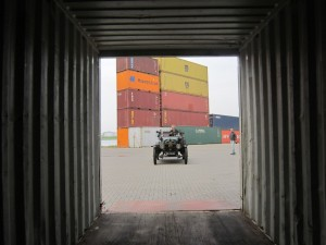 Model T in container 1