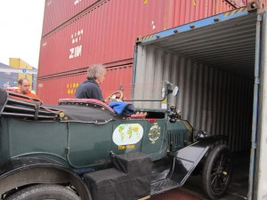 Model T in container 2