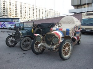 Spyker and Model T inSt.Petersburg 2