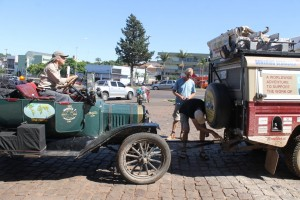Connection Model T to Land Rover
