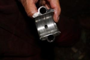 Worn out bearing