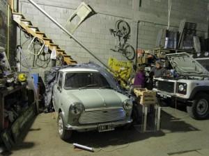 Garage of Louis 4