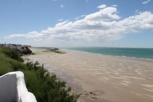 Las Grutas beach