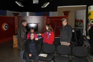 Visiting TV Studio