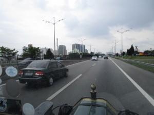 driving in Sao Paulo