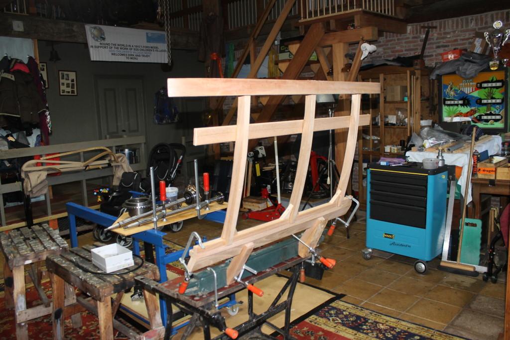 wood work rear end